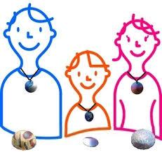 テスラペンダント+トラベルプレート  子どもはポケットプレート 必携